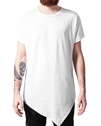 d77f749cfb75 Urban Classics Herren T-Shirt Asymetric Long Tee  Amazon.de  Bekleidung