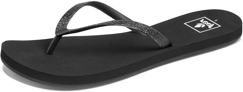 Black All Sizes Reef Stargazer Womens Footwear Sandals