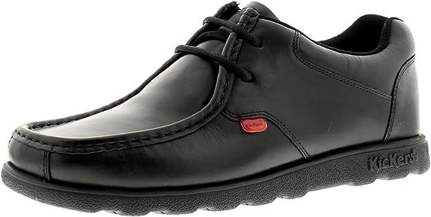 TALLA 44 EU. Kickers Fragma15 Lace Lthr Am, Zapatos de Cordones Derby para Hombre