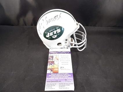 4f5c1eee Amazon.com: Joe Namath Autographed Signed Memorabilia New York Jets ...