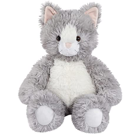 Amazon Com Vermont Teddy Bear Oh So Soft Kitty Cat Stuffed Animals