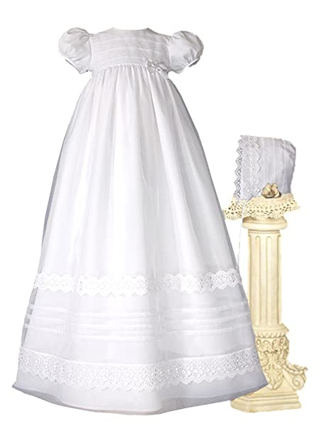 Amazon.com: Little Things - Vestido de bautizo para bebés y ...