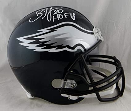 e0145caa70e Image Unavailable. Image not available for. Color: Brian Dawkins  Autographed Eagles Full Size Helmet ...