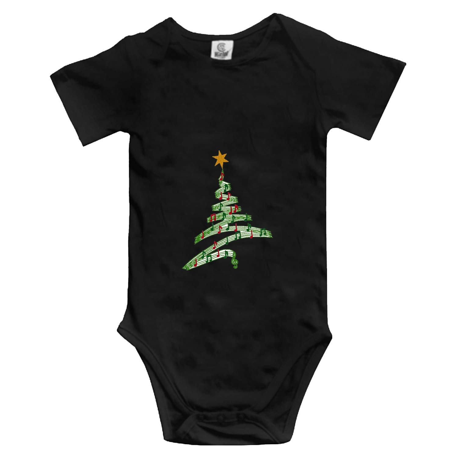 Huazh Merry Christmas Infant Baby Boys Girls Clothing Shirts Short Sleeves Rompers Jumpsuit