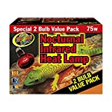 ZooMed Nocturnal Infared Heat Lamp 75w by ZooMed