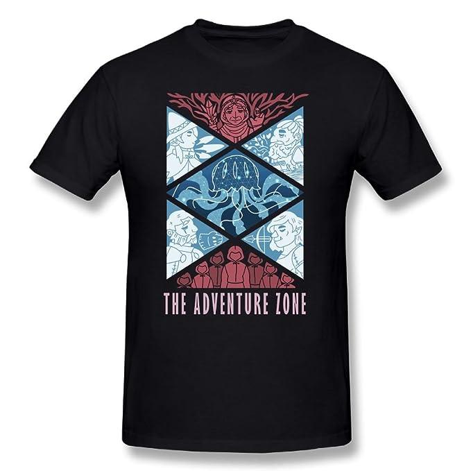 e9b47ba61d28c2 Amazon.com: Qbbe Men's The Adventure Zone Plus T-Shirt Tees: Clothing