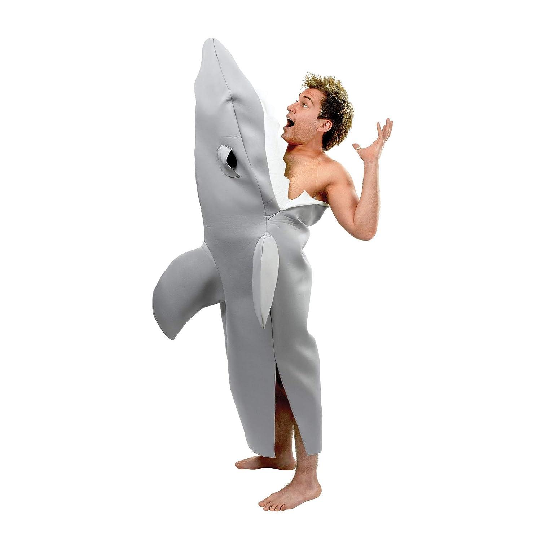 Bristol Novelty - Disfraz Mordida de tiburón para Adulto (Tamaño ...