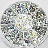Great Mixed Diy Size Glitter Rhinestones Charm 3 D Nail Art Decor Accessories