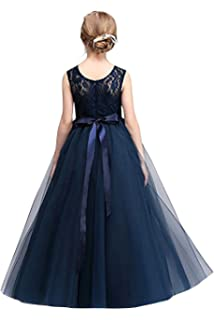 a6a13f6fc281 Babyonlinedress Blumenmädchen Kleid Kinder Mädchen Kleid mit ...