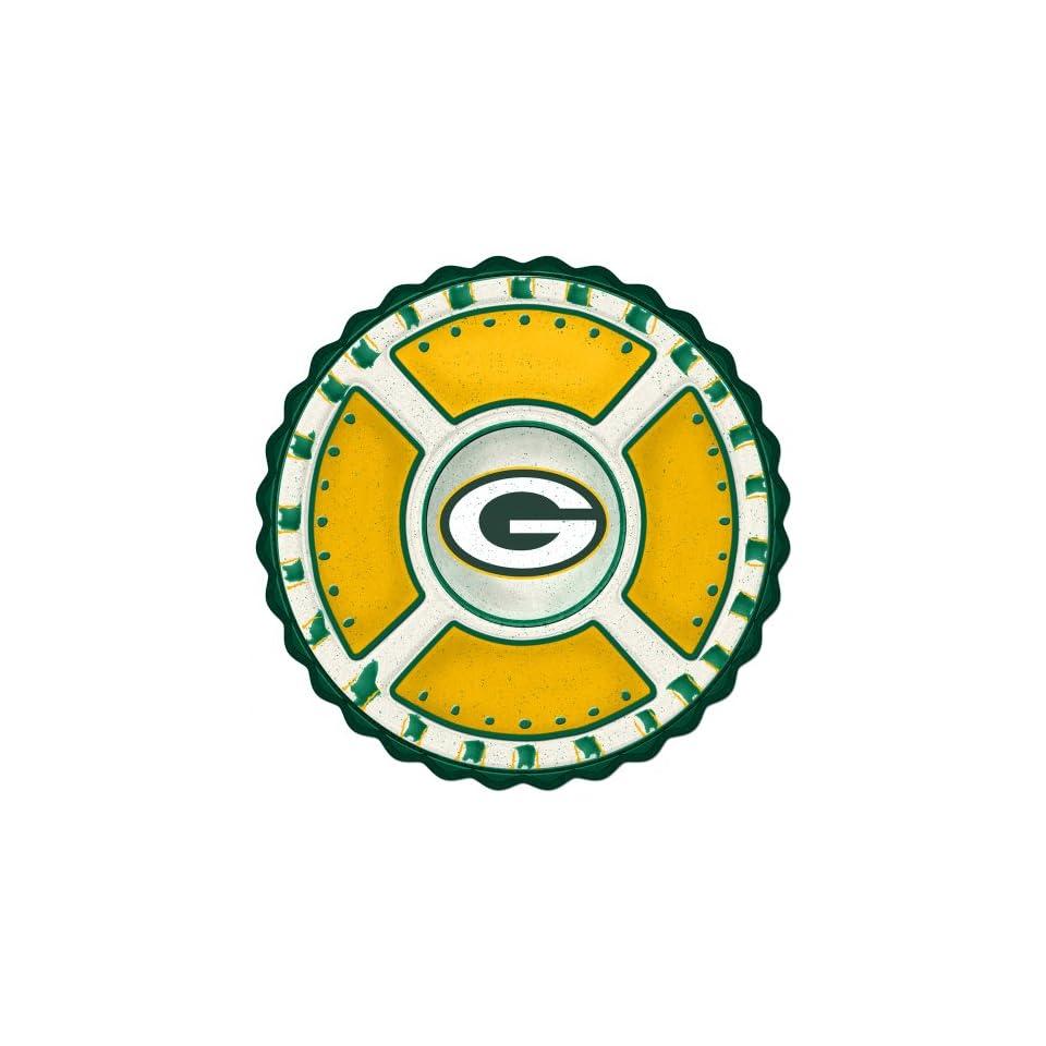 Green Bay Packers Memory Company Team Ceramic Plate NFL Football Fan Shop Sports Team Merchandise