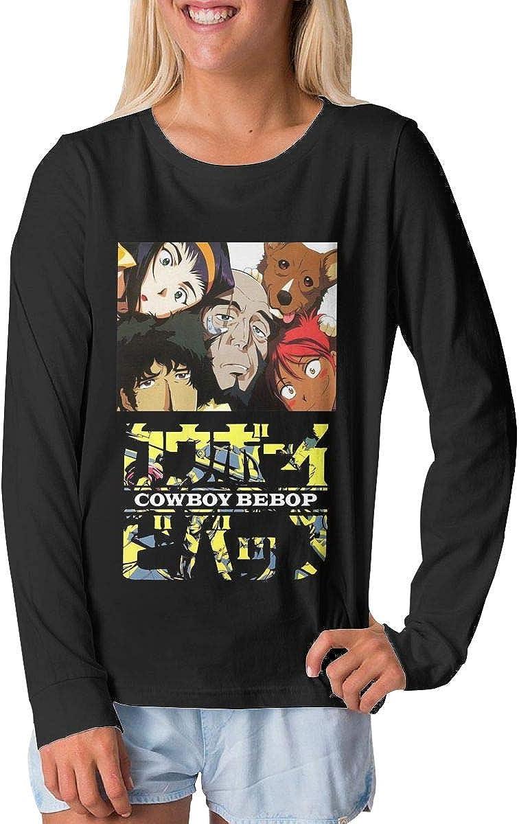 BilliePhillips Teens Cowboy Bebop Boy Girl Long Sleeve Tee Shirt