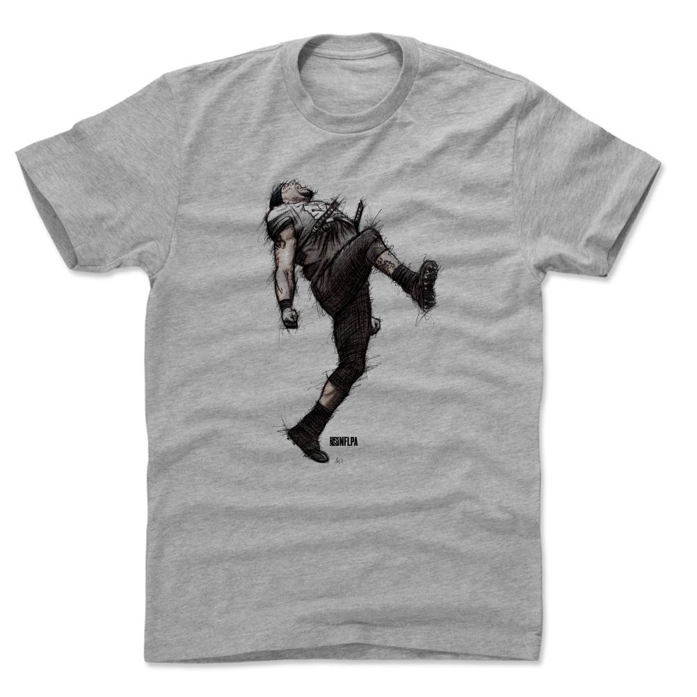 5a98bcc4 500 LEVEL Ray Lewis Shirt - Vintage Baltimore Football Men's Apparel - Ray  Lewis Dance Sketch