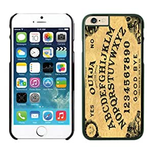 Iphone 6 Plus Case 5.5 Inches, Ouija Board Retro Design Durable Black Phone Protective Cover Case Mate for Apple Iphone 6 Plus Protector