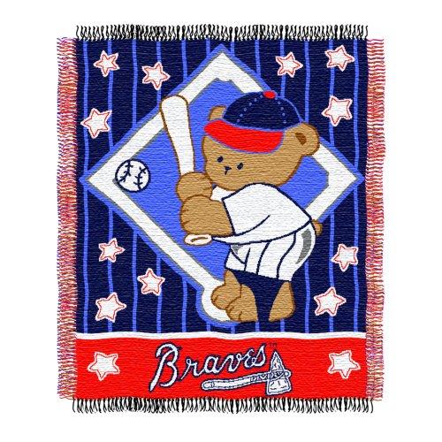 Atlanta Braves Baby Blanket - 7