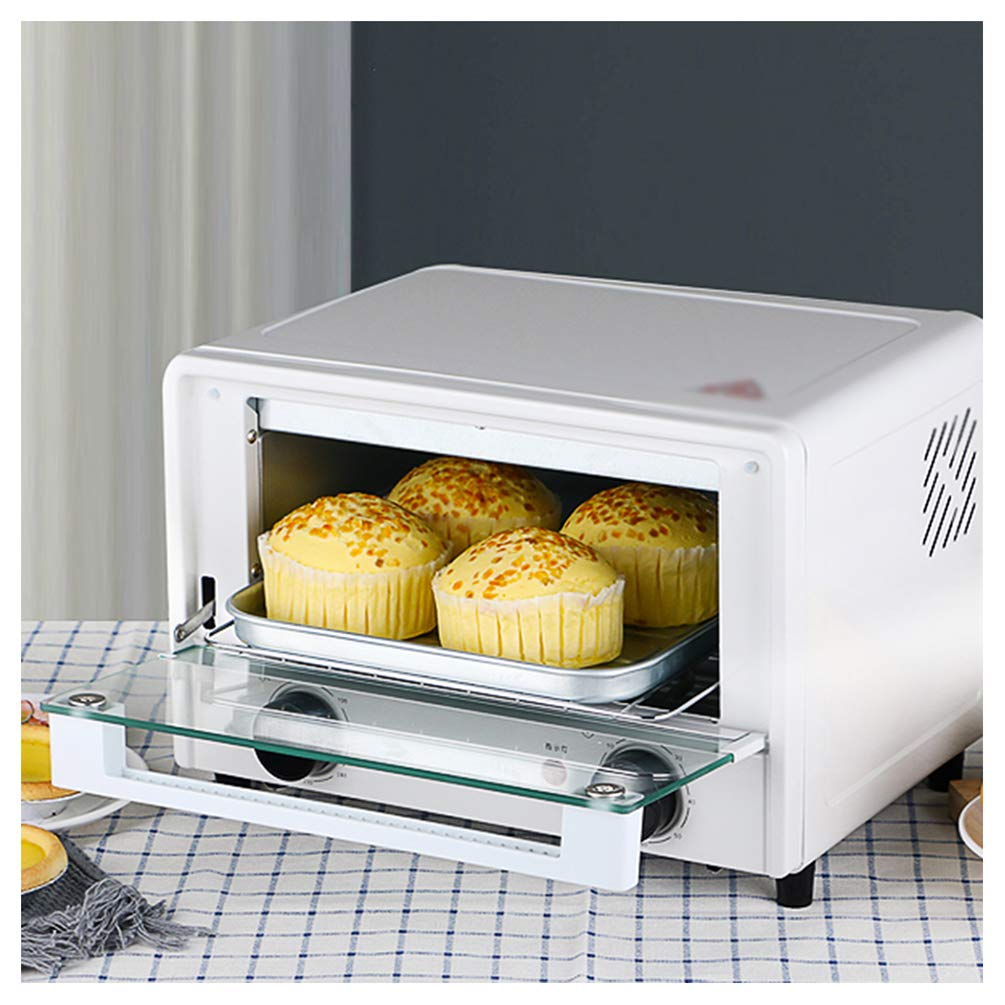 MDEOH 14 Liter Oven Mini Oven Home Baking Small Electric Oven Home 1000 Watts Unified Temperature Control of Upper and Lower Pip