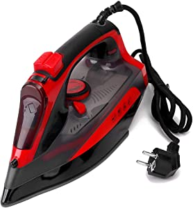 Steam iron Ceramic, Non-Stick Bottom, Three-Speed Temperature Adjustment, Suitable for All Kinds of Fabrics, Clothes, Two Colors for You to Choose