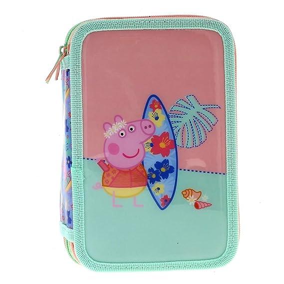 Copywrite Estuche plumier Doble Peppa Pig: Amazon.es ...