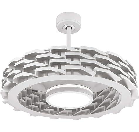 Ventilador de techo inteligente WiFi de 52 pulgadas con luz LED ...