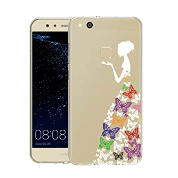 coque huawei p10 lite silicone fille