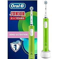 Oral-B Junior Sensi Ultrathin Çocuklar İçin Şarj Edilebilir Diş Fırçası, 6+ Yaş