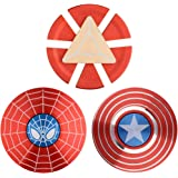 MAYBO SPORTS 3PACK Wiitin Superhero 2-Sided Fidget Spinner Toy Made by Metal with High Speed