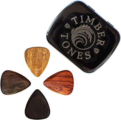 Timber Tones Picks TTEGT4 - Púa Madera Tonos Guitarras eléctricas ...