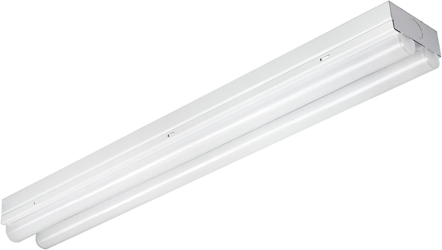 Sunlite 85132 Ceiling Flush Mount Linear Strip Light Fixture, 2 Foot, Cool White