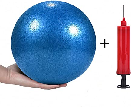 Amazon.com: Mini bola de yoga y pilates de 10 pulgadas para ...