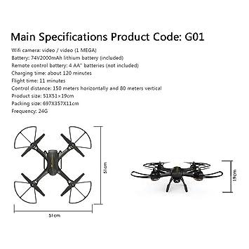 Tubos de Circuito de bits con cámara, dron para Principiantes con ...