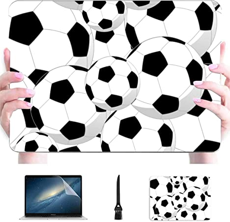 Balls Sport Pattern A1369 /& A1466, 2010-2017 Release Compatible with MacBook Air 13 inch Hard Plastic Shell Cover Case