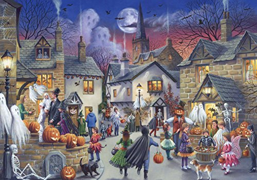 Jumbo Halloween Jigsaw Puzzle (1000 Piece)