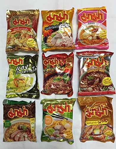 Costume Iban (Mama Rare 9 Flavors Instant Noodles Best Sellers From)