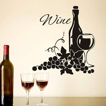 Vinilo Calcomanía Adhesivo Apto Para Botella de vino y más.