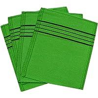Exfoliating Towel Bath Washcloth 4 Pcs (Green)