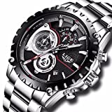 Mens Watches Full Steel Waterproof Sport Analog Quartz - Best Reviews Guide