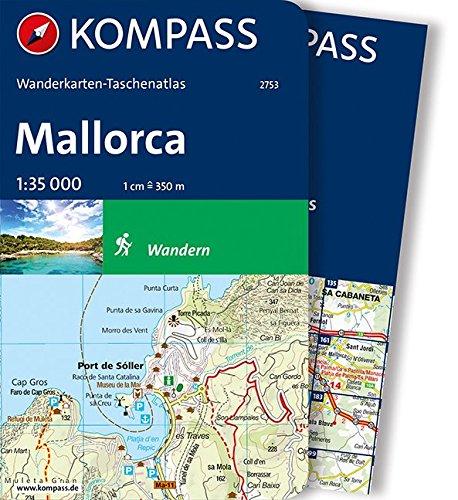 kompass karte online Download Mallorca: Wanderkarten Taschenatlas (KOMPASS Wanderkarten