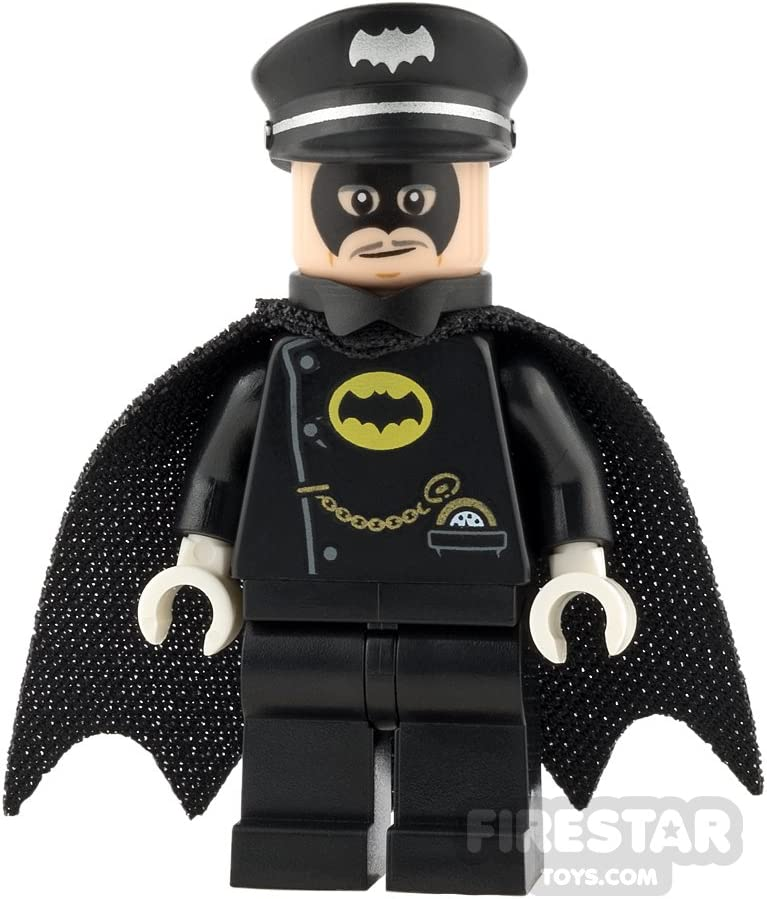 LEGO Super Heroes Minifigure - Alfred Pennyworth - in Batsuit