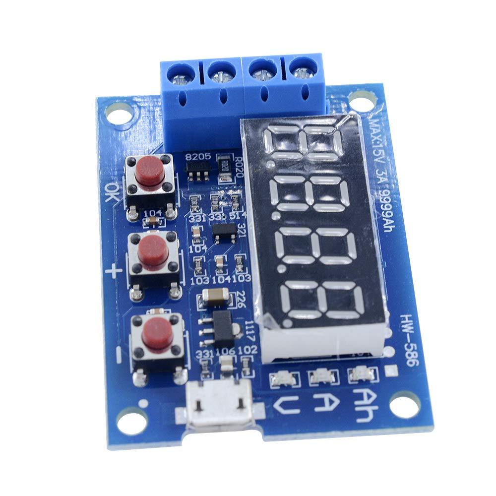 Diymore 18650 Li-ion Lithium Lead-Acid Battery Capacity Meter Discharge Tester by diymore (Image #9)