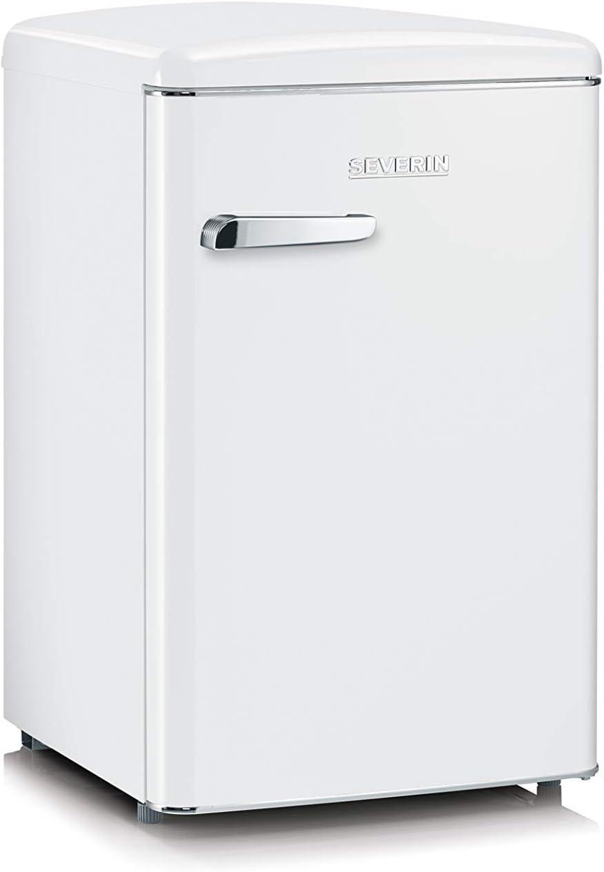 SEVERIN RKS 8835, Mini-Frigorífico Retro, 106 L, Blanco: Amazon.es: Grandes electrodomésticos
