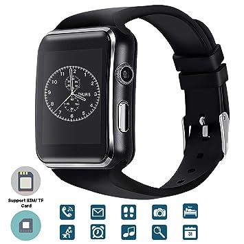 TagoBee El Reloj Inteligente Bluetooth TB01 con Tarjeta SIM es Compatible con Whatsapp Notificación Compatible con Todos los teléfonos Android y iOS ...