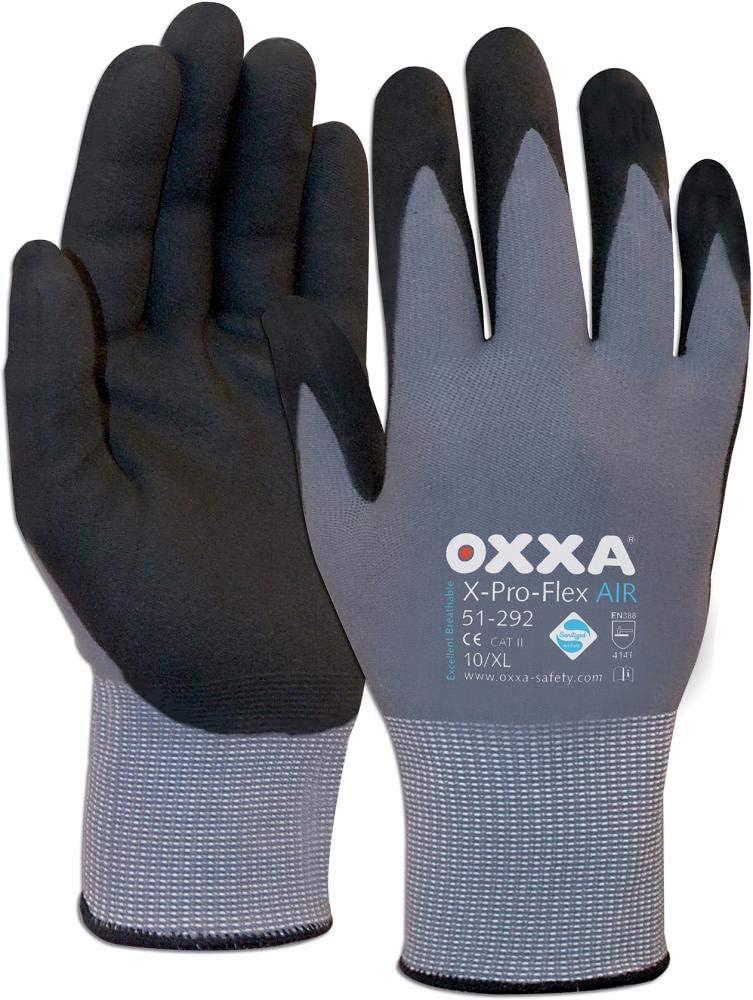 Size 9 Oxxa  X-Pro-Flex-Air Grey//Black