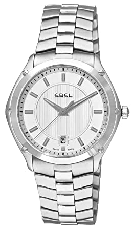 ebel classic sport stainless steel mens watch date 9955q41 163450 ebel classic sport stainless steel mens watch date 9955q41 163450