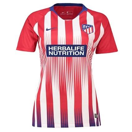 4292f2b423bfb Nike 2018-2019 Atletico Madrid Home Ladies Football Soccer T-Shirt ...