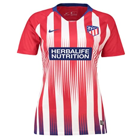 Nike 2018-2019 Atletico Madrid Home Ladies Football Soccer T-Shirt Camiseta   Amazon.es  Deportes y aire libre 37a56663f3e7c