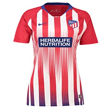Nike 2018-2019 Atletico Madrid Home Ladies Football Soccer T-Shirt Camiseta: Amazon.es: Deportes y aire libre