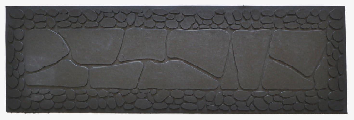 Imports Decor 827RBM Stone Rubber Step Mat, 33