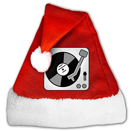 Tocadiscos, música, vinilo, Record, DJ tapas de Papá Noel Navidad ...