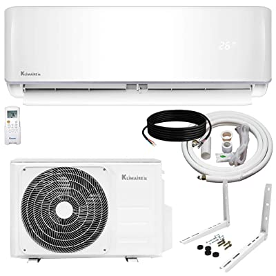 Klimaire 12,000 BTU KSIV 19 SEER Ductless Mini-Split Inverter Air Conditioner