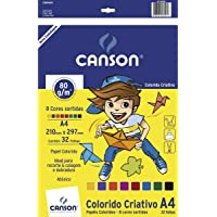 Bloco Para Educação Artística Fila Canson, Multicor