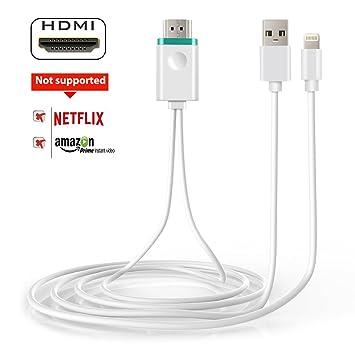 Cable Adaptador de vídeo HDMI a HDMI MAOZUA 1080P para Pantalla de ...